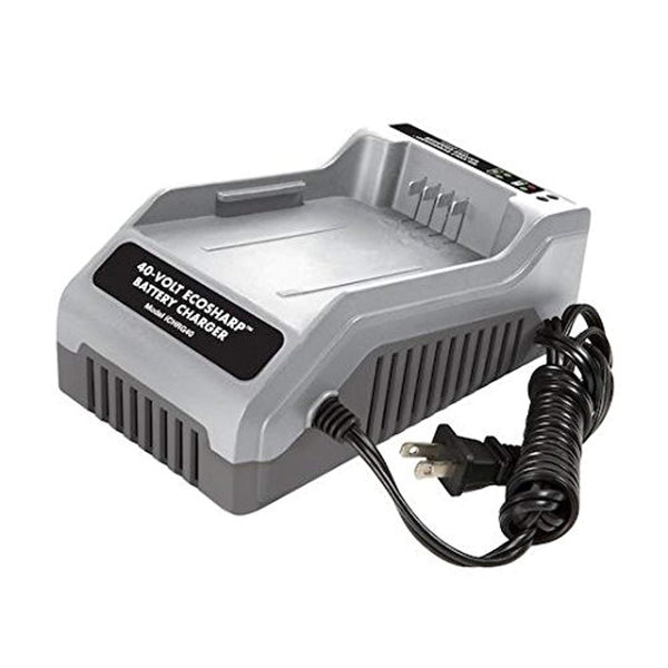 Snow Joe + Sun Joe iCHRG40 EcoSharp Lithium-Ion Battery Charger | 40 Volt - Eco Trade Company