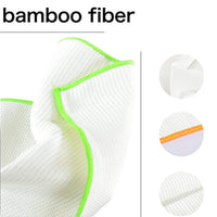100% Bamboo Dish Cloths Soft Durable and Eco-Friendly Cleaning Rags - Eco Trade Company