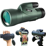High Definition Monocular Telescope and Quick Smartphone Holder - Eco Trade Company