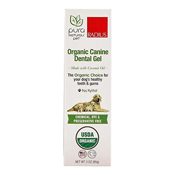 Organic Canine Dental Gel - Eco Trade Company