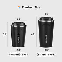 Stainless Steel Double Wall Coffee Mugs 13oz - Eco Trade Company