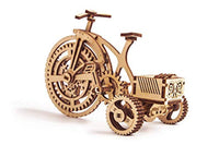 Wood Trick 3D Wooden Bicycle Toy Model - Bicycle Model Kit Mechanical Model to Build - Eco Trade Company