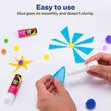 Glue Stick White for Arts and Crafts, Washable, Nontoxic, 0.26 oz. Permanent Glue Stic, 18pk - Eco Trade Company