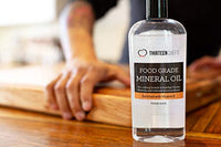 Food Grade Mineral Oil for Cutting Boards, Countertops and Butcher Blocks - Food Safe and Made in the USA - Eco Trade Company