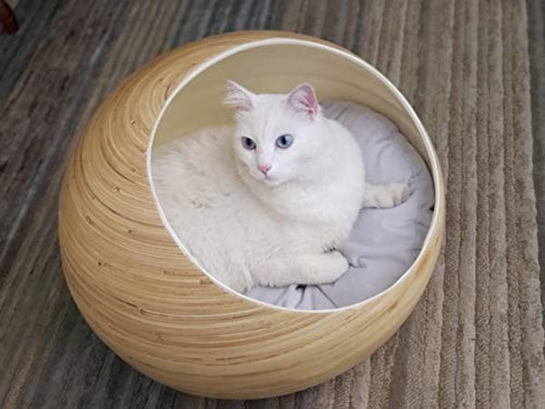 Luxury Bamboo Cat Bed | Eco Trade Company