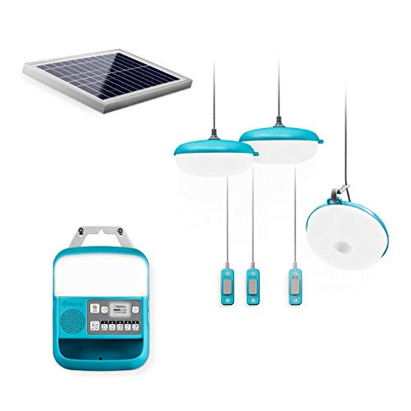 BioLite SolarHome 620 Portable Off-Grid Solar Lighting System - Eco Trade Company
