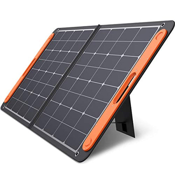 Jackery SolarSaga 100W Portable Solar Panel for Explorer 160/240/500 Power Station, Foldable US Solar Cell Solar Charger with USB Outputs for Phones - Eco Trade Company