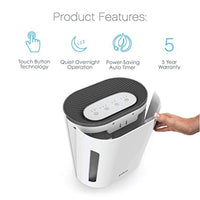 3-in-1 Air Purifier - True HEPA Filter & UV-C Sanitizer Cleans Air, Helps Alleviate Allergies, Eliminates Germs, Removes Pet Hair, Smoke & More - Eco Trade Company
