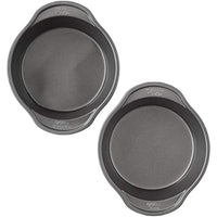Wilton Perfect Results Premium Non-Stick 6in Round Cake Pan Set, 2-Piece - Eco Trade Company