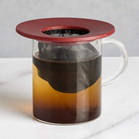 Portable Pour Over, Reusable Fine Mesh Filter, Dishwasher Safe, Single Cup of Coffee or Tea At Any Strength, Ideal For Travel or Camping - Eco Trade Company