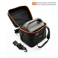 Jackery EVA Travel & Business Hard Carrying Case Bag for Explorer 240 Portable Power Station - Black (E240 Not Included) BAG ONLY - Eco Trade Company