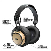 Exodus Over-Ear Wireless Headphone 30-Hour Battery Life 50mm Hi-Definition Premium Comfort Memory Foam Onboard Mic & Remote Functionality Quick Charge - Eco Trade Company