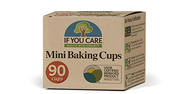 Mini Baking Cups, 90-Count Packages (Pack of 24) - Eco Trade Company