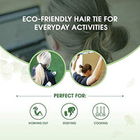Biodegradable Elastic Hair Ties - Eco Trade Company