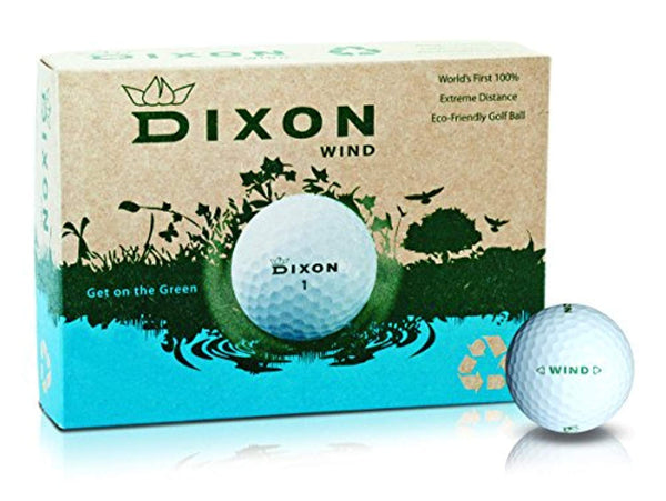 Dixon Wind Eco-Friendly Max Distance Golf Balls (1 Dozen) - Eco Trade Company