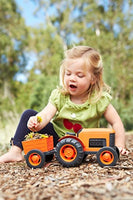 Green Toys Tractor Vehicle, Orange Made from 100% Recycled Plastic, No BPA, phthalates, PVC, or External Coatings - Eco Trade Company