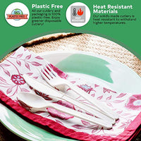 100% Compostable Cutlery Set, 380 Pack - Eco Trade Company
