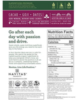 Superfood Power Snacks, Cacao Goji, 8 oz. Bag - Organic, Non-GMO, Gluten-Free, No Sugar Added - Eco Trade Company
