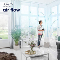 Blueair 211+ Air Purifier 3 Stage with Two Washable Pre, Particle, Carbon Filter, Captures Allergens, Odors, Smoke, Mold, Dust, Germs, Pets, Smokers - Eco Trade Company