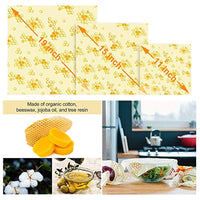 15 Pack Beeswax Wrap & Silicone Food Storage Bag & Silicone Stretch Lids, Eco-Friendly Reusable - Eco Trade Company