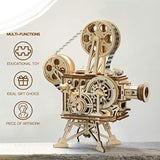 3D Wooden Puzzle Mechanical Model Kits for Adults DIY Craft Kits Vitascope - Eco Trade Company