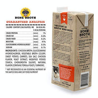 Brutus Bone Broth for Dogs, Natural, Glucosamine & Chondroitin for Healthy Joint, Hydrating Dog Food Topper for All Ages, Made in USA - Eco Trade Company