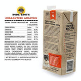 Brutus Bone Broth for Dogs,100% Natural, Glucosamine & Chondroitin for Healthy Joint, Hydrating Dog Food Topper for All Ages, Made in USA - Eco Trade Company