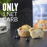 Lakanto Sugar-Free Blueberry Muffin Mix, Low-Carb, Gluten-Free Baking with Monkfruit Sweetener - Eco Trade Company