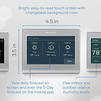 Honeywell Home RTH9585WF1004 Wi-Fi Smart Color Thermostat, 7 Day Programmable, Touch Screen, Energy Star, Alexa Ready - Eco Trade Company