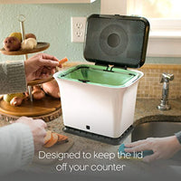 Fresh Air Odor-Free Kitchen Compost Bin - Eco Trade Company
