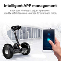 Segway Ninebot S Smart Self-Balancing Electric Scooter with LED Light, Portable and Powerful - Eco Trade Company