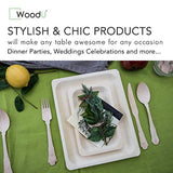 Biodegradable Birch Wood for Parties, Events Dinner Plates - Eco Trade Company