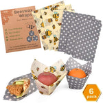 Reusable Beeswax Wrap Assorted 6 Pack - Eco Trade Company