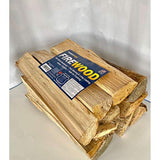 0.75 Cubic Feet Natural Hardwood Mix Fire Log Firewood Bundle for Fireplaces, Campfires, Firepits - Eco Trade Company