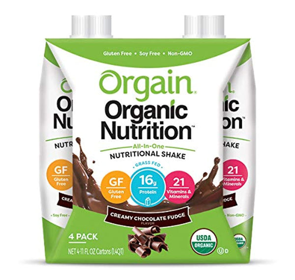 Orgain Organic Nutritional Shake, Creamy Chocolate Fudge - Eco Trade Company