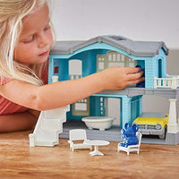 Play House Playset from Green Toys - Made in the USA from 100% Recycled Plastic from Used Milk Jugs - Eco Trade Company