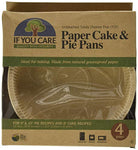 Unbleached FSC Certified Paper Cake and Pie Baking Pans, 4-Count - Eco Trade Company