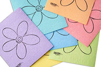 Eco-Friendly Cleaning Cloth 4-Pack Assorted Colors - Eco Trade Company