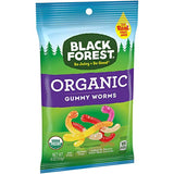 Black Forest Organic Gummy Worms Candy, 4 Ounce, Pack of 1 - Eco Trade Company