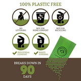 Biodegradable Poop Bags, Dog Waste Bags, Unscented, Vegetable-Based & Eco-Friendly - Eco Trade Company