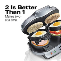 Dual Breakfast Sandwich Maker with Timer - Eco Trade Company