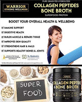 Collagen Peptides & Bone Broth, Pure Grass-Fed Hydrolyzed Collagen Powder Boost for Healthy Skin, Nails, Hair, Joints, Muscles - Eco Trade Company