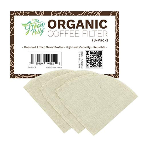 Organic Hemp Cloth Coffee Filter - Eco Trade Company