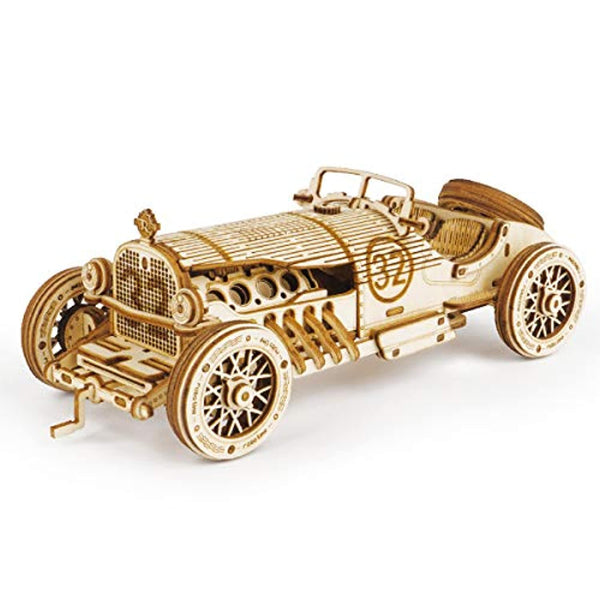3D Wooden Puzzle for Adults-Mechanical Car Model Kits - Eco Trade Company