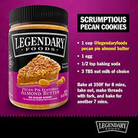 Legendary Foods, Pecan Pie Almond Nut Butter,16 oz Jar, Low Carb and No Added Sugar, Healthy, Paleo, Vegan, Keto-Friendly Snacks 2 Pack - Eco Trade Company