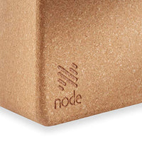 Cork Yoga Block (Set of 2) - Solid Natural Cork Exercise Brick - 9 x 6 x 4 Inches - Eco Trade Company