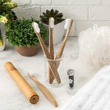 Bamboo Toothbrush Set - Eco Trade Company
