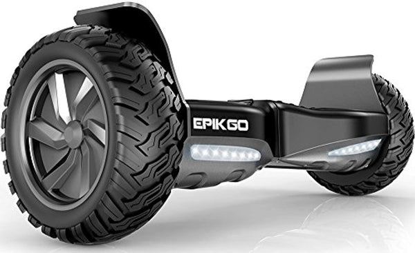 "Self Balancing Scooter Hover Self-Balance Board - UL2272 Certified, All-Terrain 8.5"" Alloy Wheel, 400W Dual-Motor, LG Battery, Tough Road Condition - Eco Trade Company"