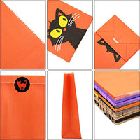 60 Pieces Halloween Paper Gift Paper Bags