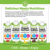 Orgain Organic Nutritional Shake, Sweet Vanilla Bean - Meal Replacement, 16g Protein 21 Vitamins & Minerals - Eco Trade Company